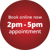 2pm-5pm appointment slot